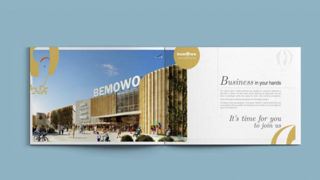 projekt i skład broszury informacyjnej